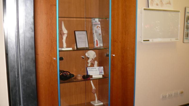Menai Chiropractor - Product Cabinet