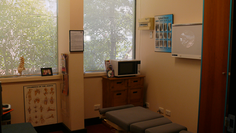 Menai Chiropractor - Treatment Room